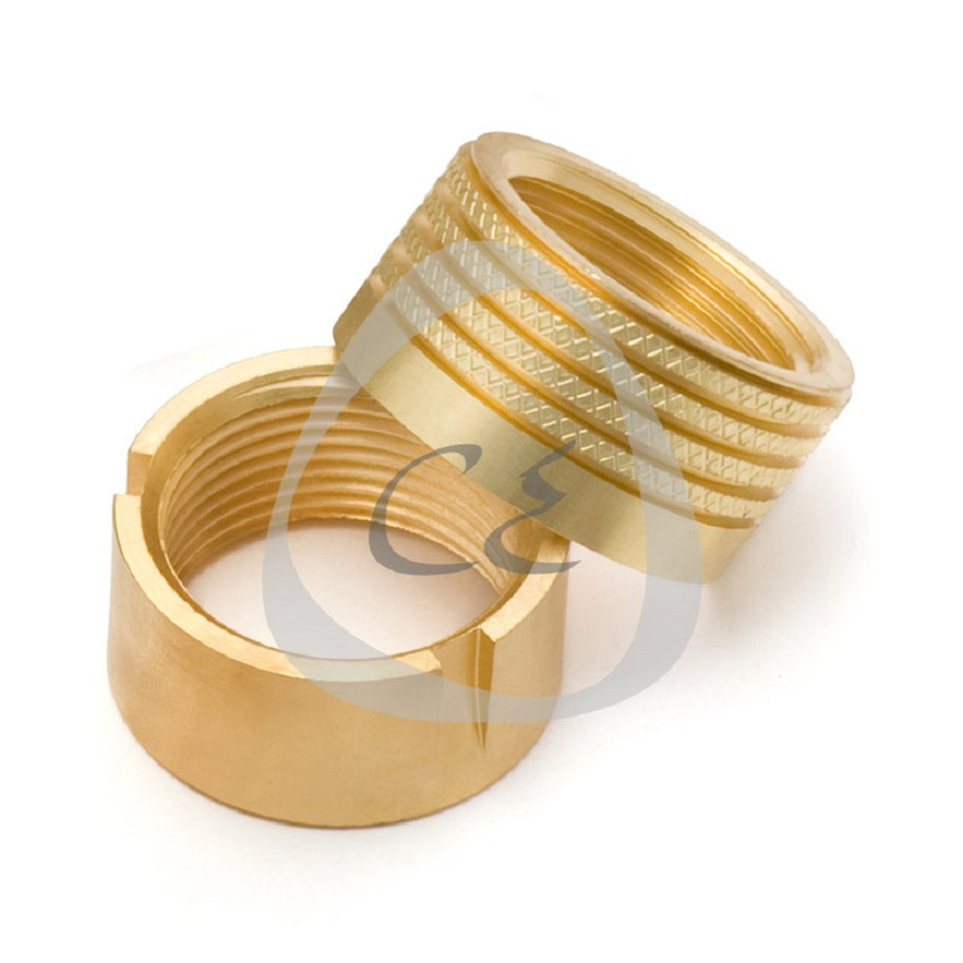 Logo Brass Molding Inserts