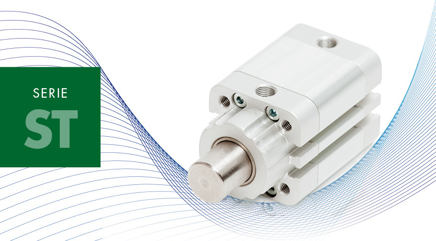 Logo SERIE ST - Stopper compact cylinders
