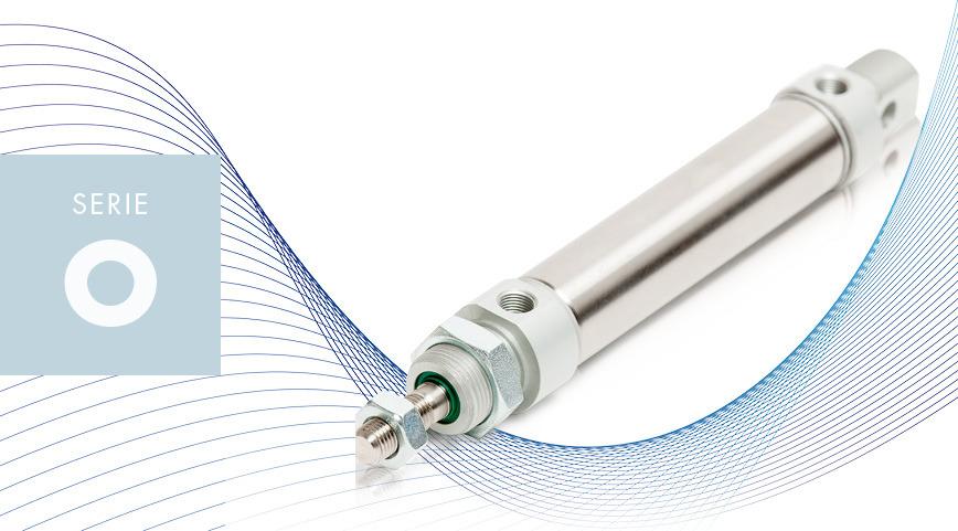 Logo SERIE O - ISO 6432 micro cylinders