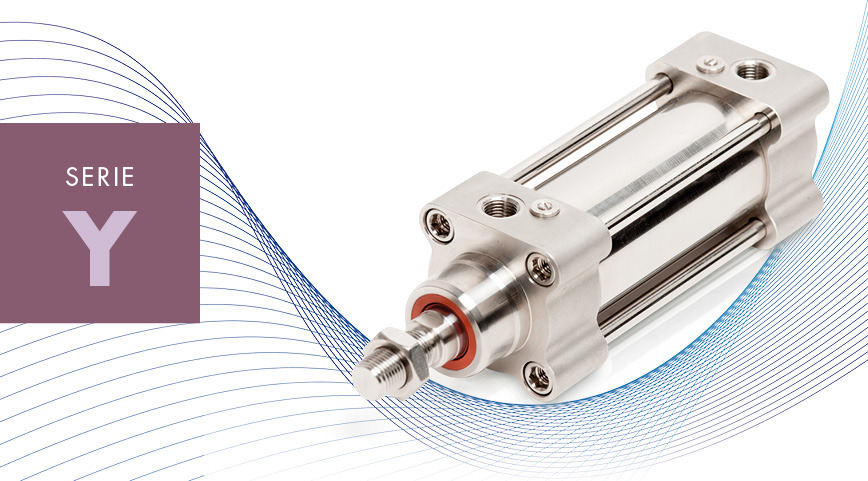 Logo SERIE Y - ISO 15552 ss cylinders