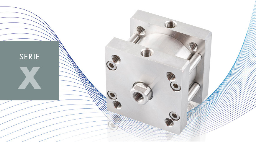 Logo SERIE X - ISO 21287 ss compact cylinders