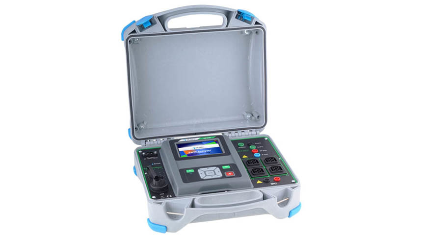Logo MI 3290 Erdungs Analyzer