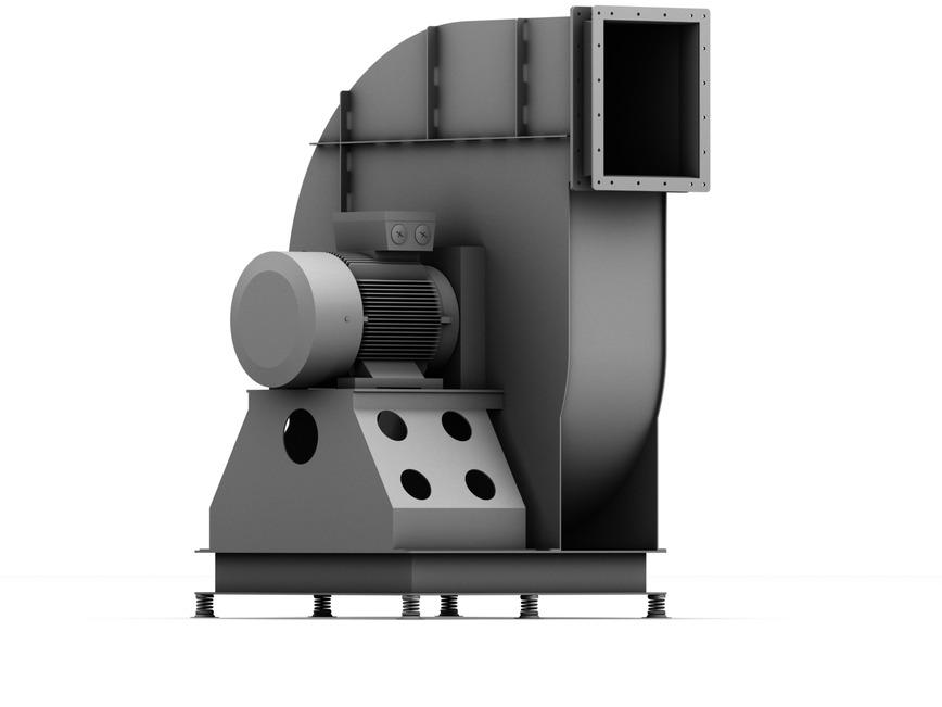 Logo Radialventilatoren zur Förderung großer Luftmengen