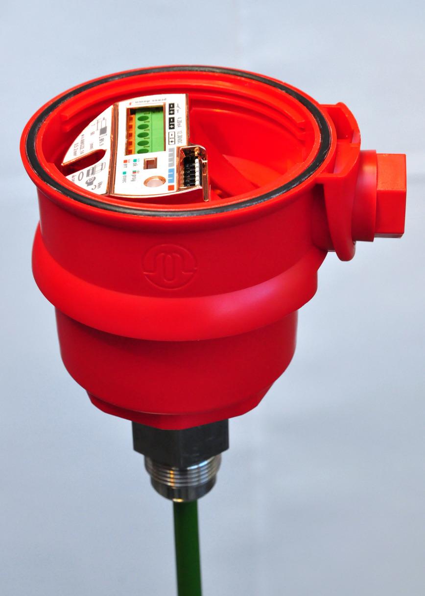 Logo KNS continuous level measurement system