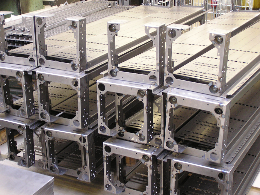Logo Manufacture of racks, cabinets and shelves