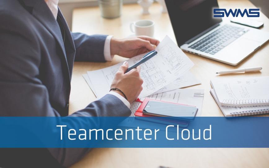 Logo Siemens Teamcenter in der Cloud