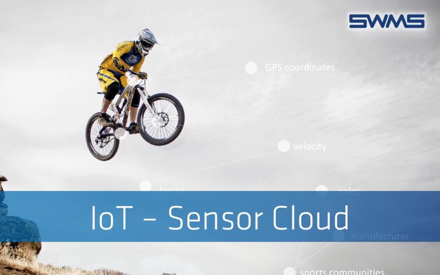 Logo IoT - Vom Sensor in die Cloud mit SWMS