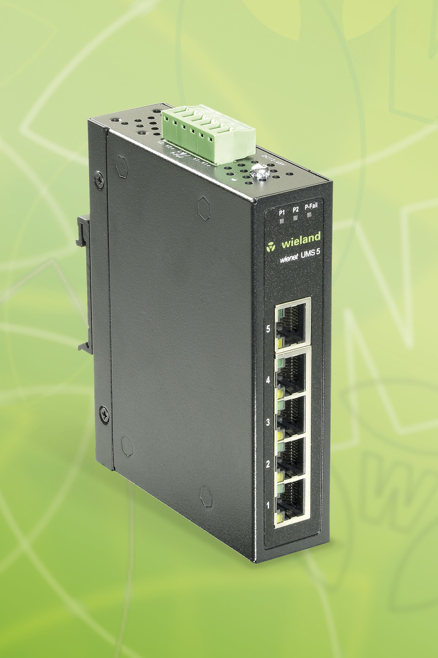 Logo Ethernet Switch wienet UMS 5-W