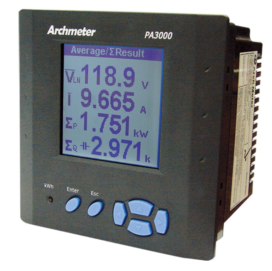 Logo PA3000 Smart Power Meter