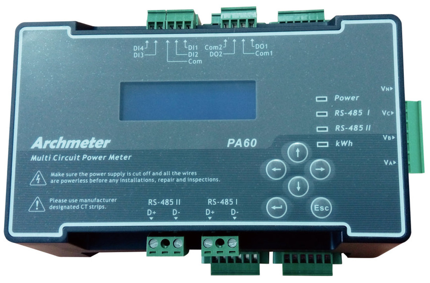 Logo PA60 Multi Circuit Power Meter