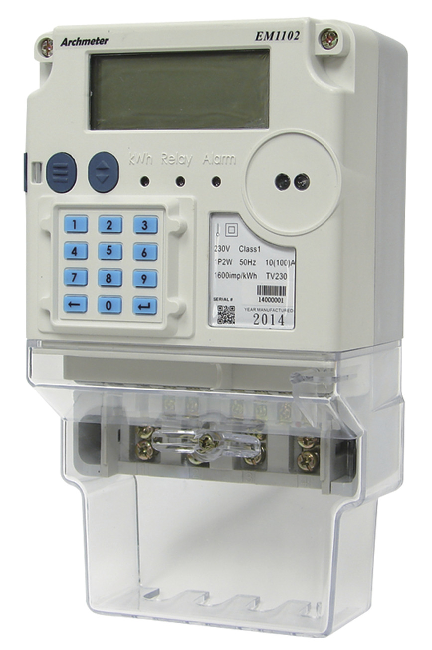 Logo IEC Single Phase Electricity Meter