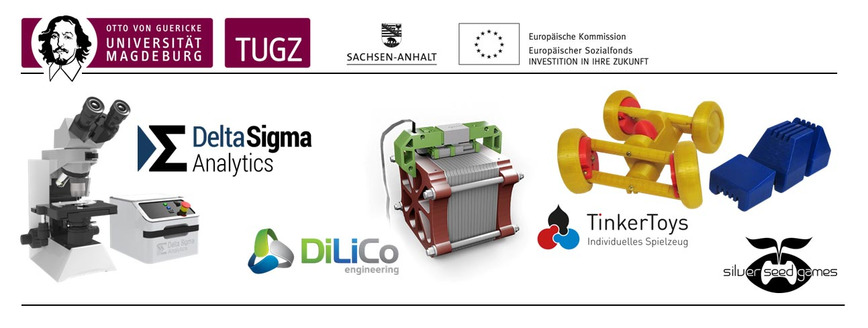 Logo Transfer- und Gründerzentrum (TUGZ)