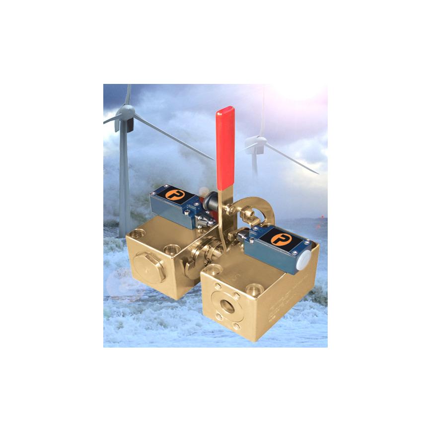 Logo High-pressure ball valves for wind turbines