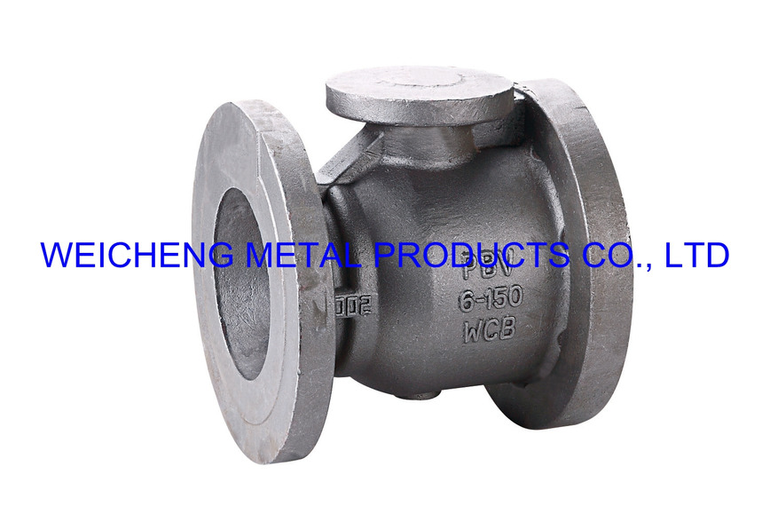 Logo valve - waterglass investment casting