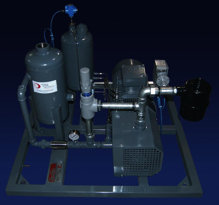 Logo Low pressure oil lubricated compressors