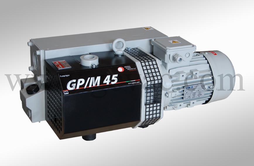 Logo Ölgeschmierte Vakuumpumpen GP und GPM