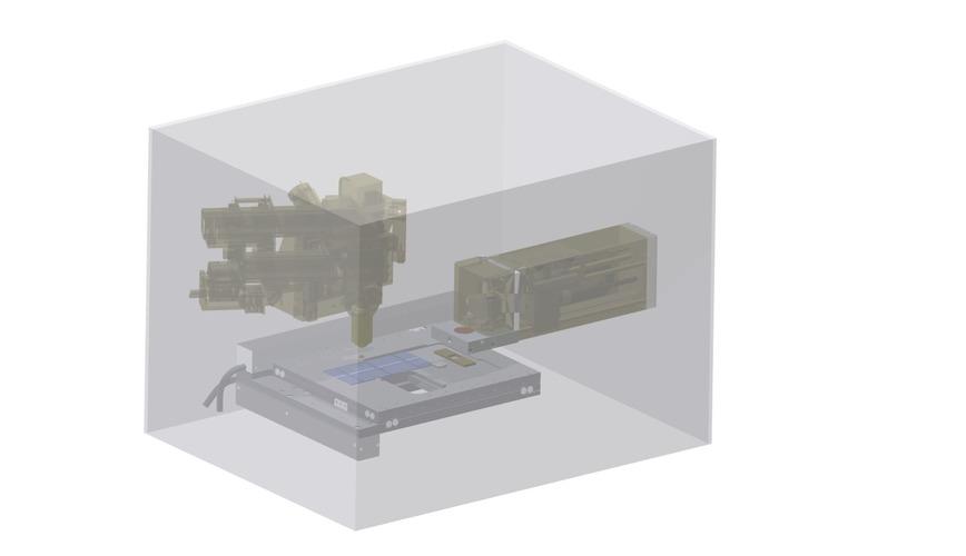 Logo visuell gestütztes microfinish system