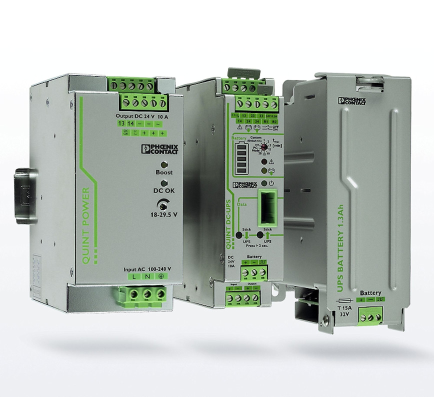 Logo Power supplies and UPS