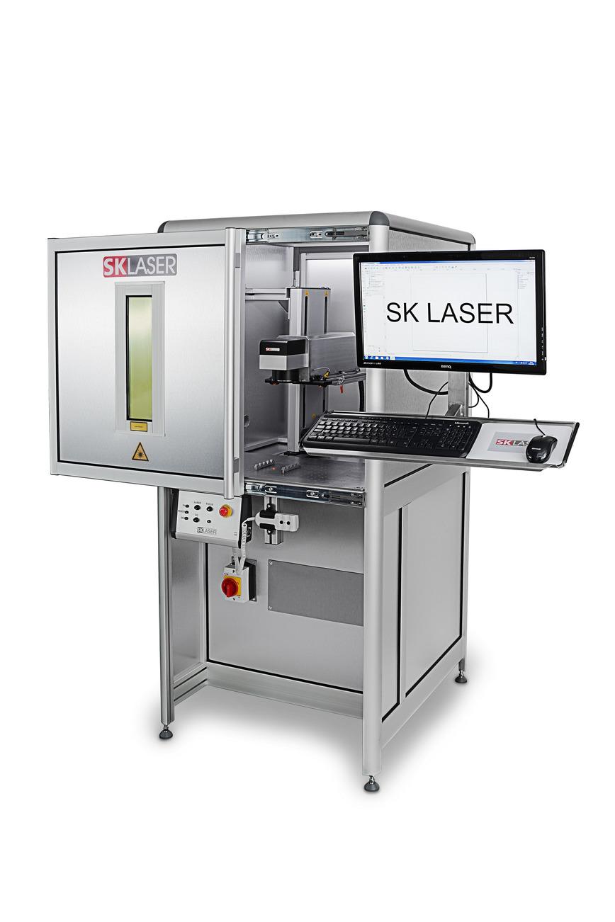 Logo Faser Laser 10 W - 50W für die Lasergravur