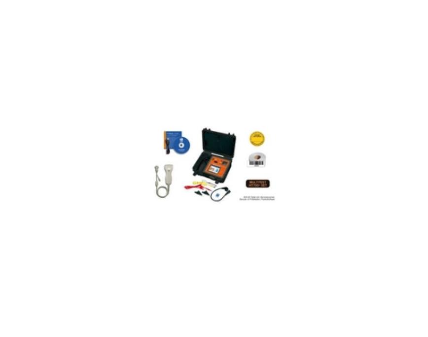Logo MultiTest HT700+ BGV A3 Gerätetester  für VDE0701 & VDE0701