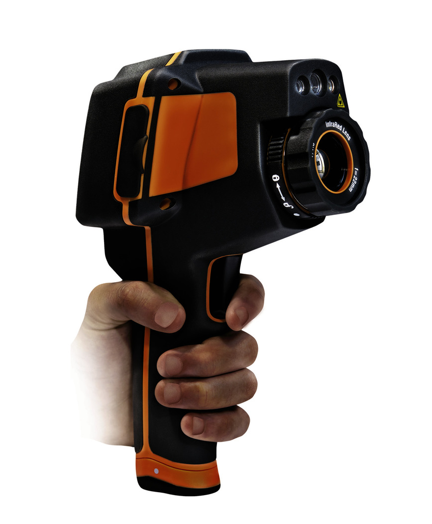 Logo THT70 Infrared Camera with Touchscreen