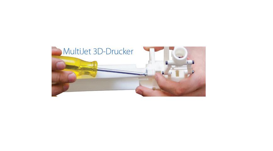 Logo 3D Drucker 3D Systems ProJet MultiJet