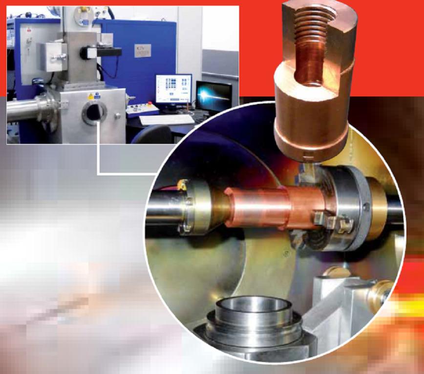 Logo The electron beam welding