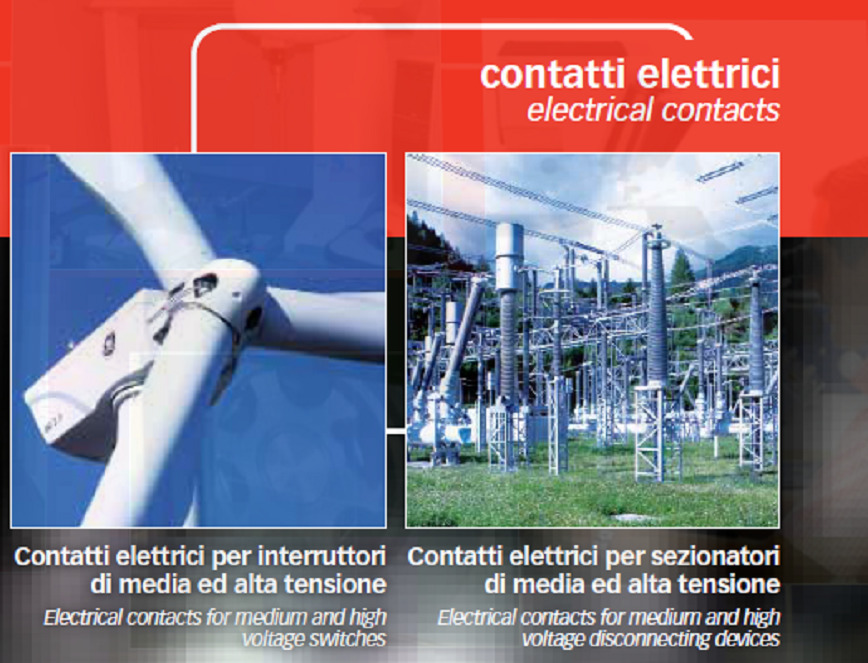 Logo Electrical contacts