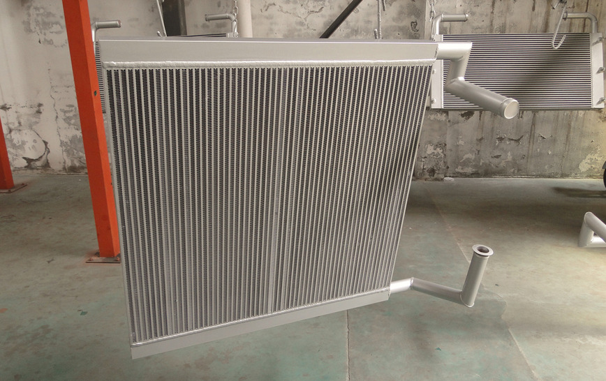 Logo Hydraulic Oil Cooler for Excavator