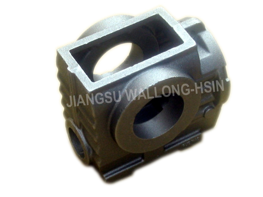 Logo casting and machined casting part
