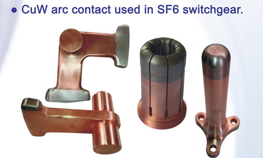 Logo CuCr/CuW Arc Contact, Casting Parts