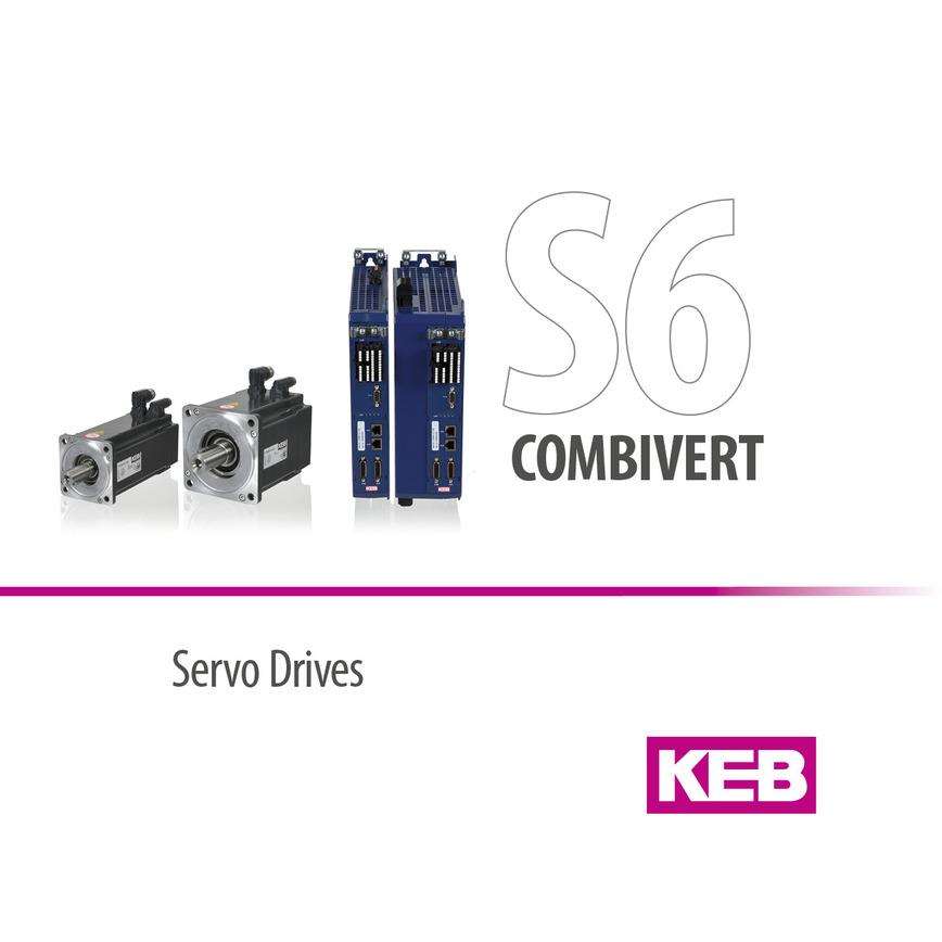 Logo KEB COMBIVERT S6 - Servosystem