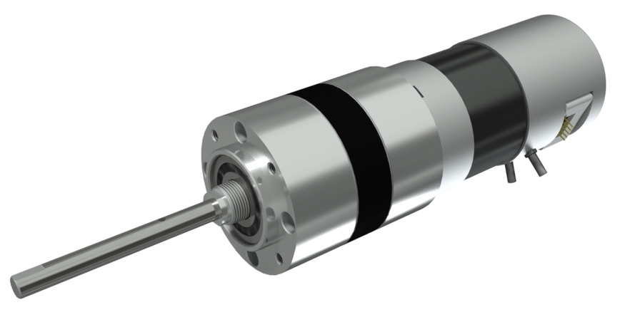 Logo DC gear motor