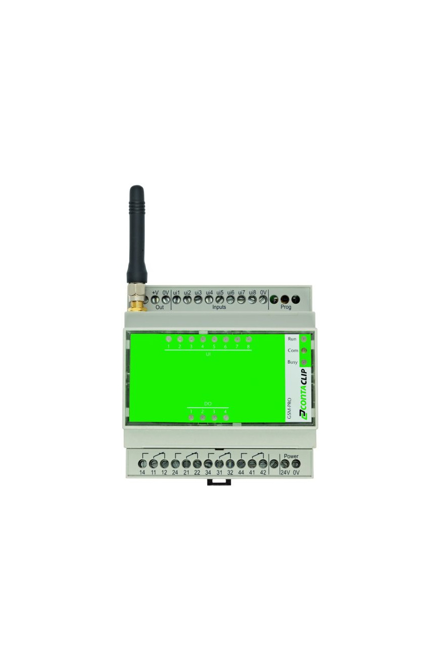 Logo Everything under control - from a distance: GSM-PRO the M2M Remote I/O
