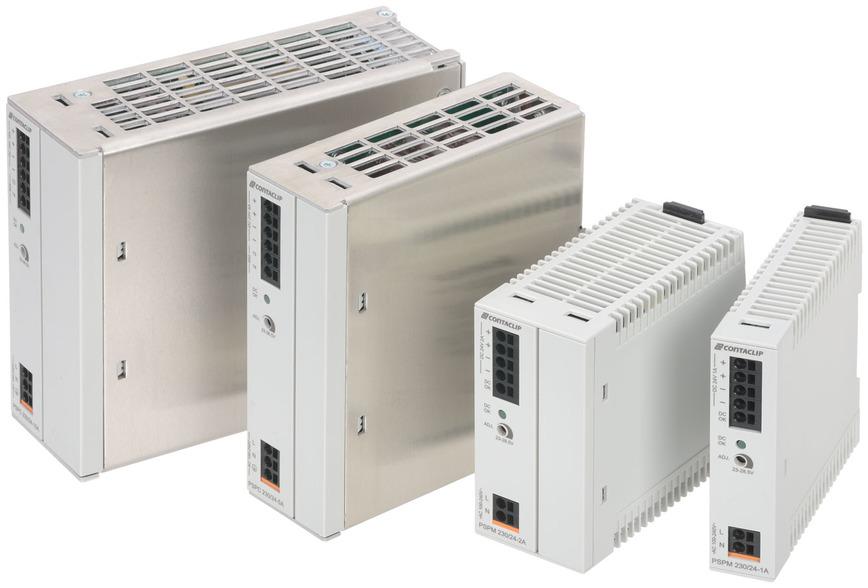 Logo Direct current power supplie PSPC | PSPM