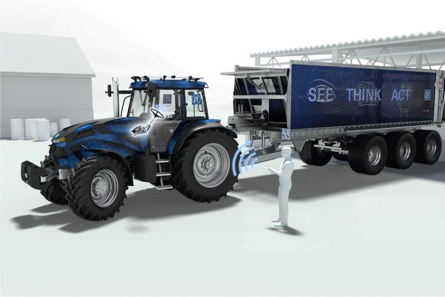 Logo ZF Innovation Tractor