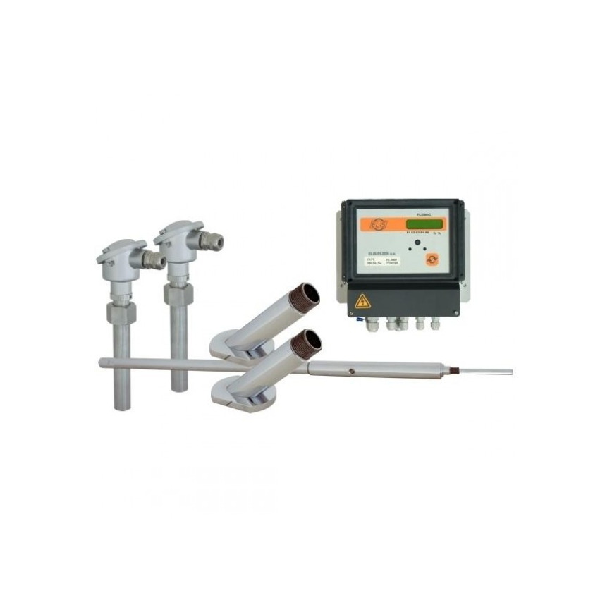 Logo Ultrasonic flow meters FLOMIC FL3005 for direct assembly in the piping