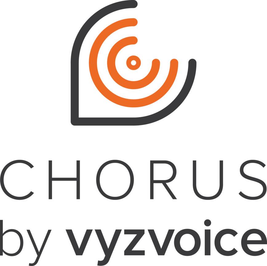 Logo Chorus by vyzVoice