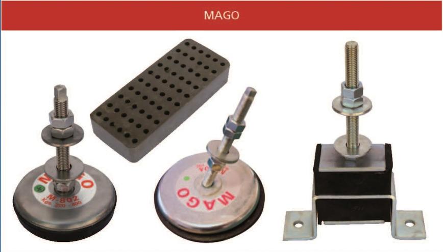 Logo Mago Antivibration Mounts