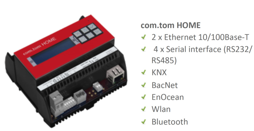 Logo ComTom industrial IoT and remote service