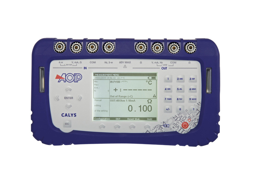 Logo Advanced field documenting calibrator