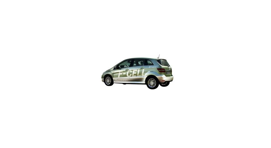 Logo Mercedes-Benz B-Class F-CELL