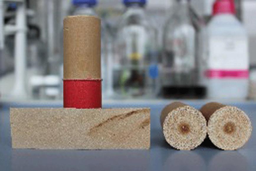 Logo Reibschweißen von Biowerkstoffen