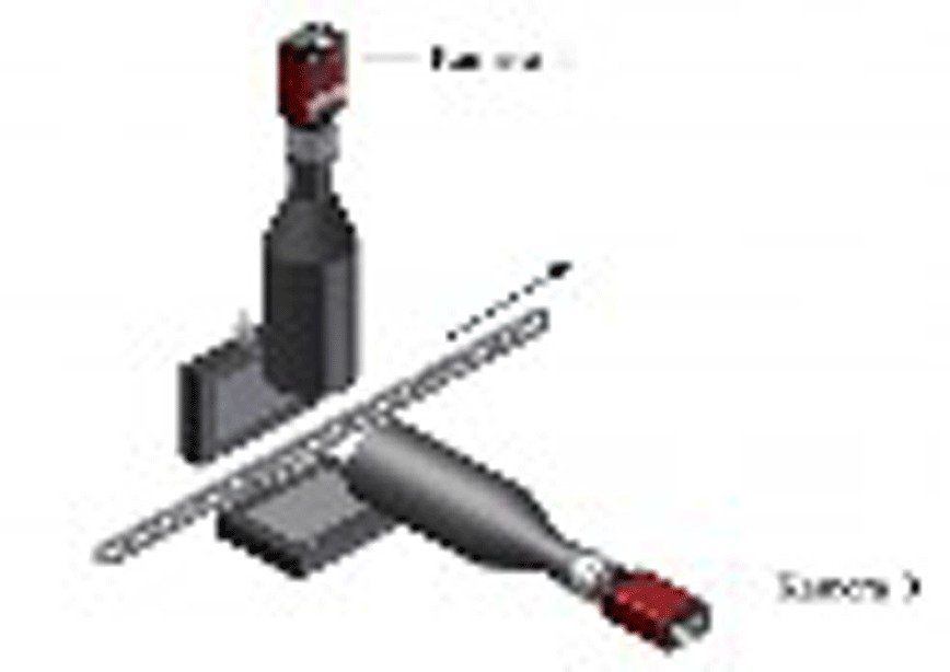 Logo Anordnung zur optischen Messung