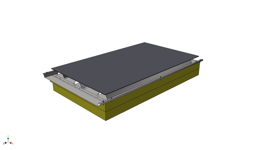 Logo TCR roof system