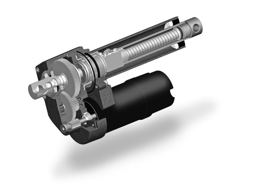 Logo Warner Linear actuator