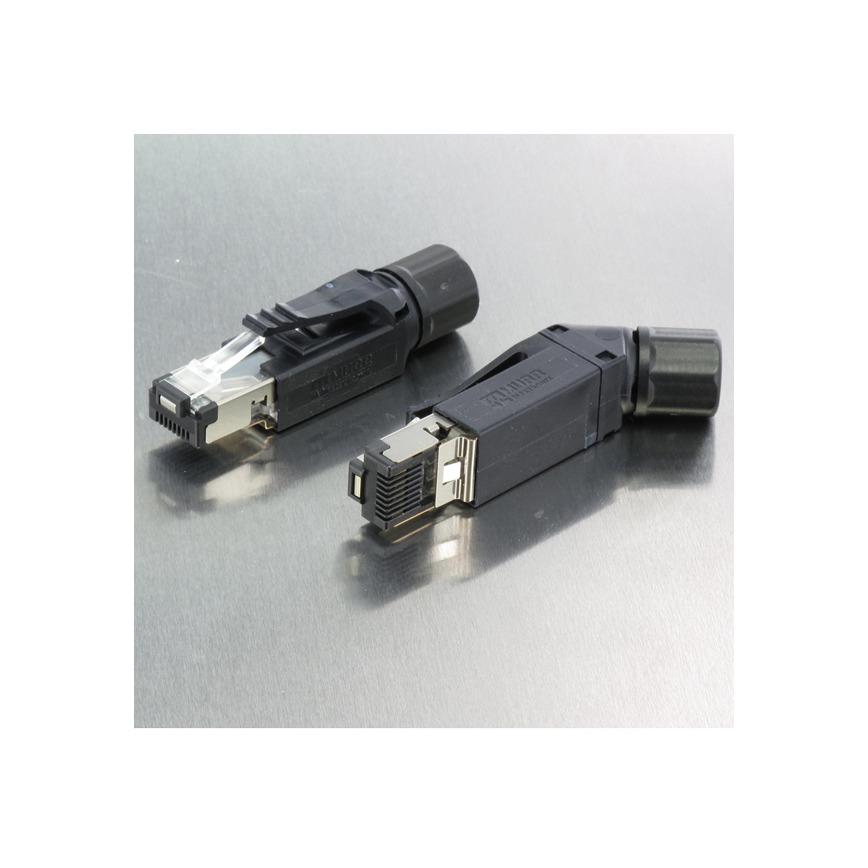 Logo RJ45 Professional ermöglicht Ethernet bis 10GBit
