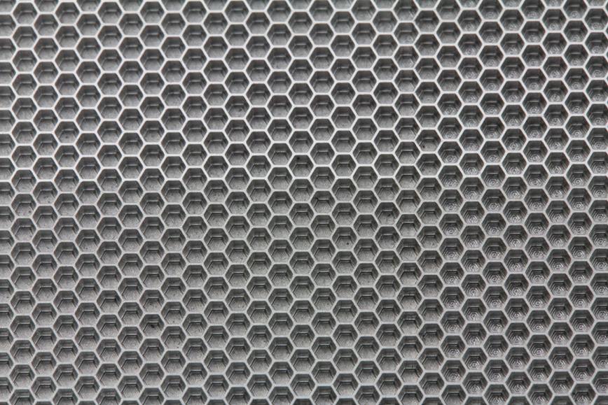Logo micro honeycombs