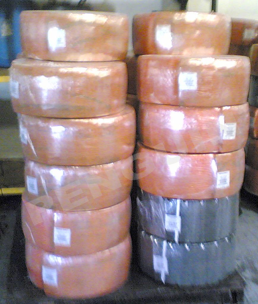 Logo Runderstreifen Gummi Roll Wrapper