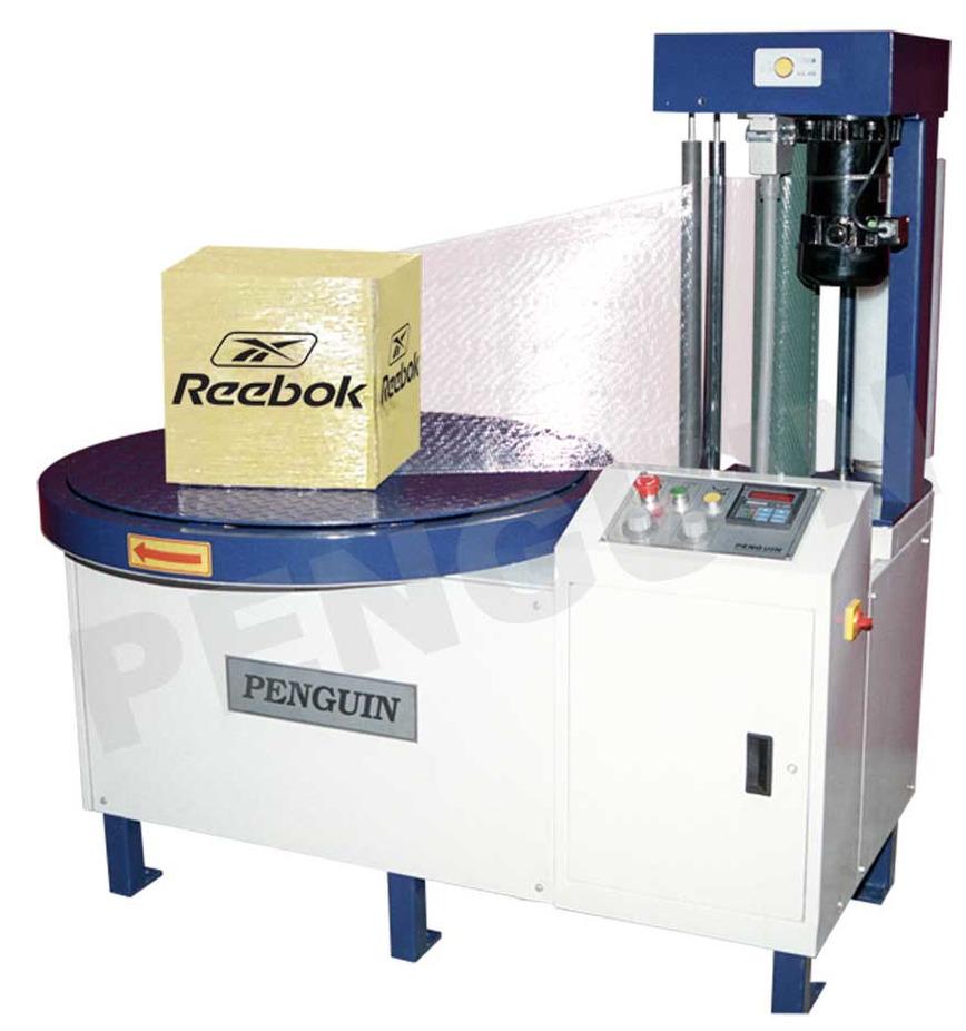 Logo Karton-Box Stretch-Wickelmaschine